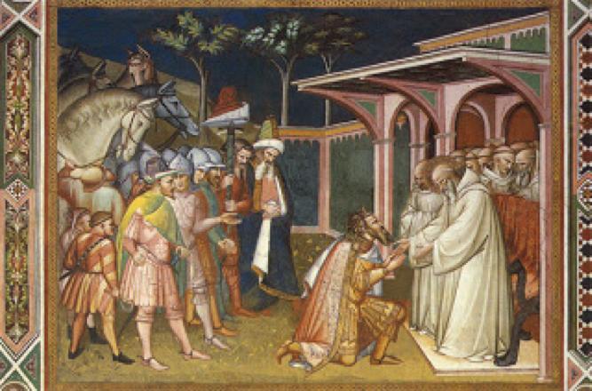 San Benedetto e Totila
