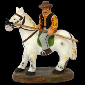 santon Cavallo della Camargue