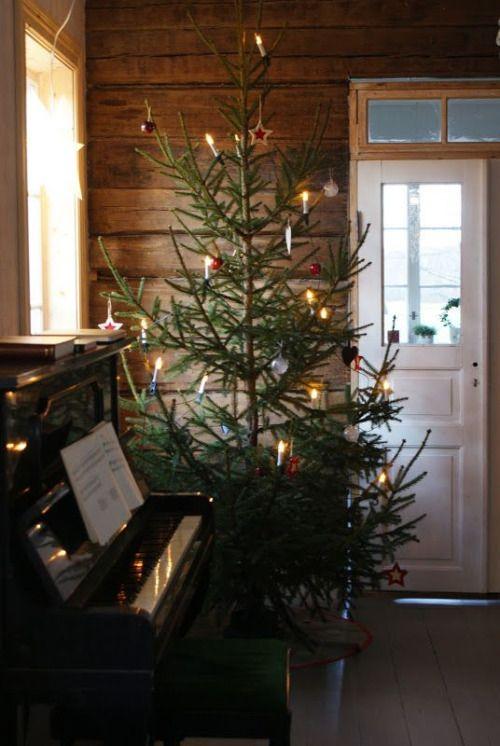 albero di natale nordico