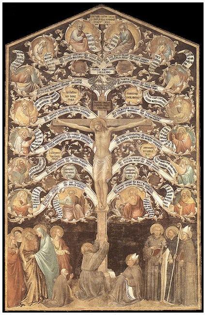 albero della vita, Taddeo Gaddi